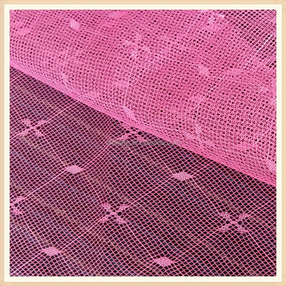 k 100% polyester jacquard mosquito net fabric mesh fabric curtain fabric