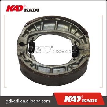 KADI motorcycle spare parts brake shoes for motorcycle spare parts motorcycle brake shoes manufacturing machine for AX-4