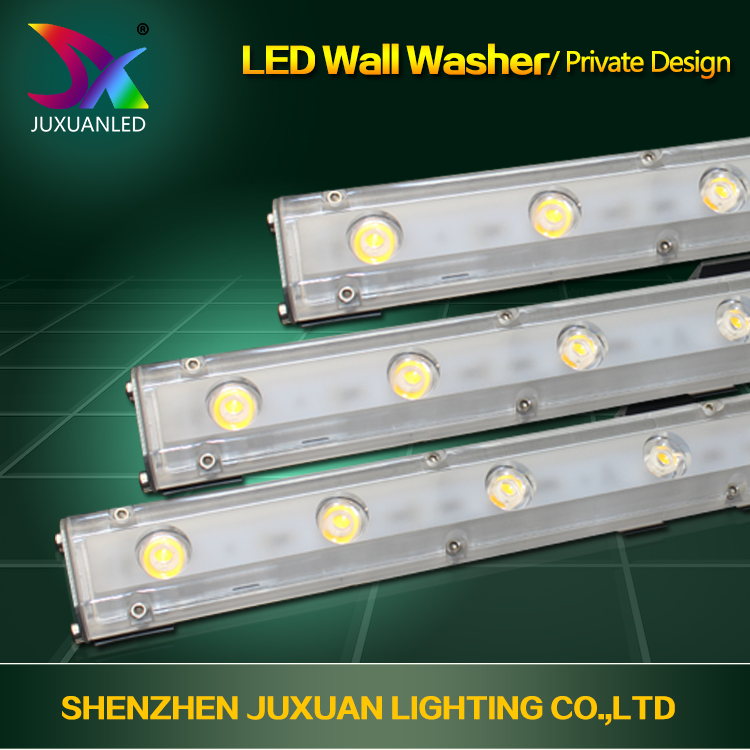 High quality indurstrial design 18w 24w solar powered outdoor wall washer light