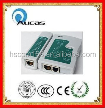 High quality lan cable test equipment RJ45 RJ11 network cable tester china supplier