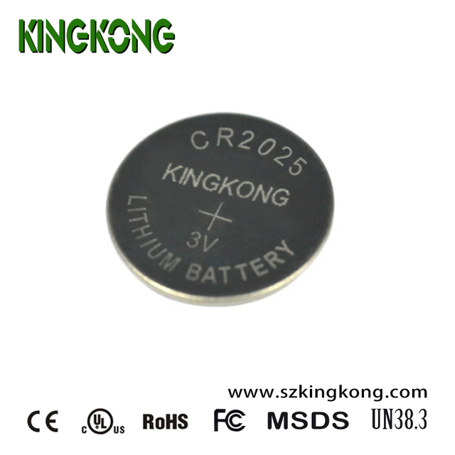 2017 KingKong cr2025 3v Li-Mn button cell battery for electronic dictionaries