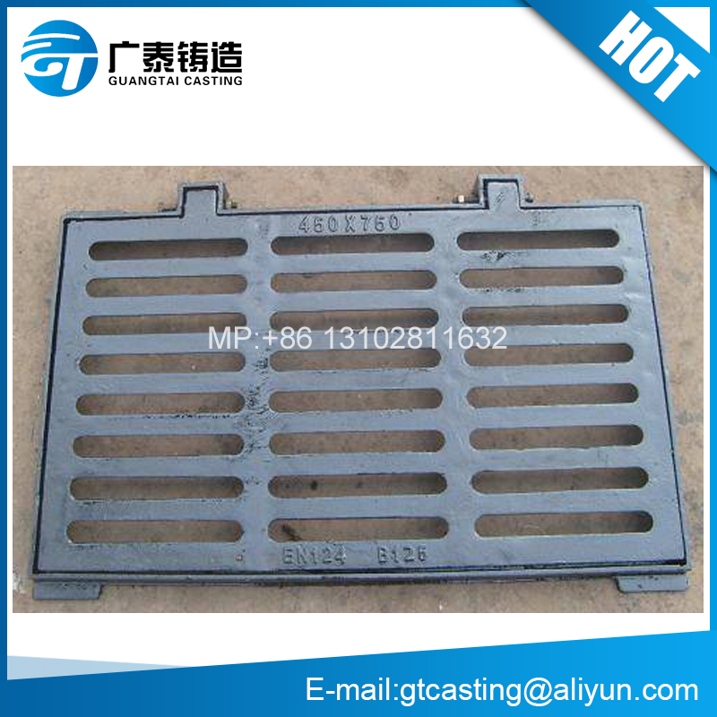 B125 C250 D400 E600 Ductile Iron Gully Grid Drain Sewer Grates Gratings Covers and Frames Casting Foundry Price EN124