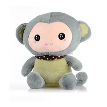 Plush Stuffed Cute Soft Monkey Zoo Animals Mini Monkey Toy Children Doll Birthday Gift