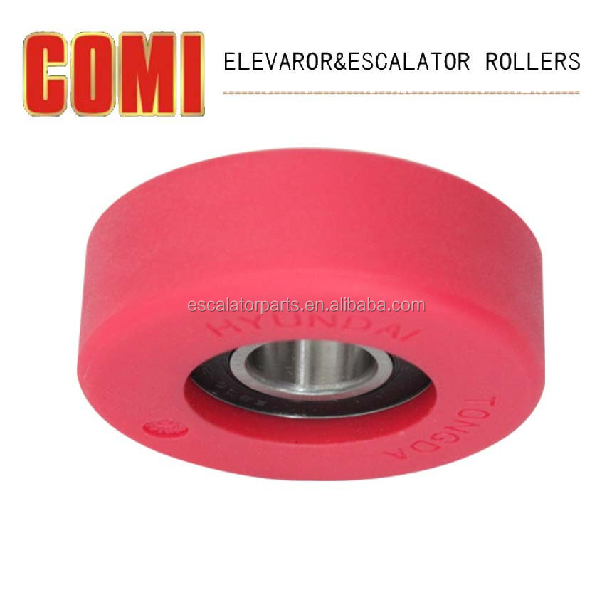 Escalator step roller for Hyundai 75*25*6204-2RS,Whole sale escalator parts
