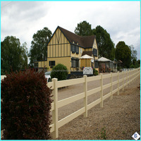 3 rails white 2012 hot sales galvanized horse fence panel