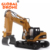 High Quality Global Drone Huina Toys 1570 1:14 2.4 G Engineering toy car Alloy Log Auto Grabbing Machine RC Excavator