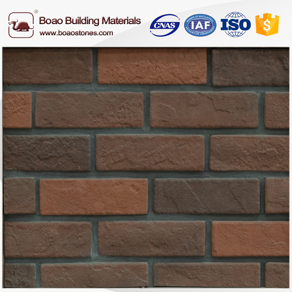 Archaized brick PU wall panel