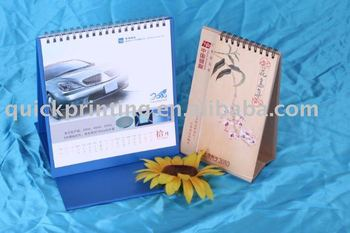 Digital 2011 Desktop Calendar Printing