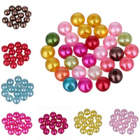 8mm china abs resin gem round loose resin beads pearl for jewelry bracelet pick diy