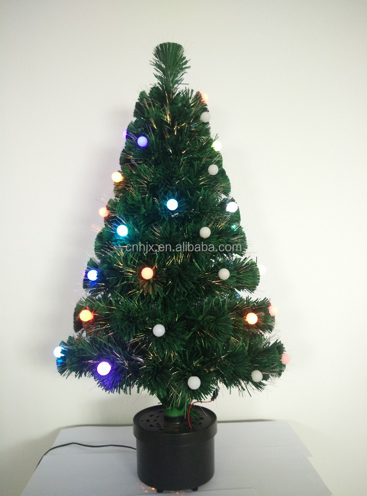 2015 Product Optic Fiber Xmas High-end LED Tree, Popular Decor For Christmas Tree