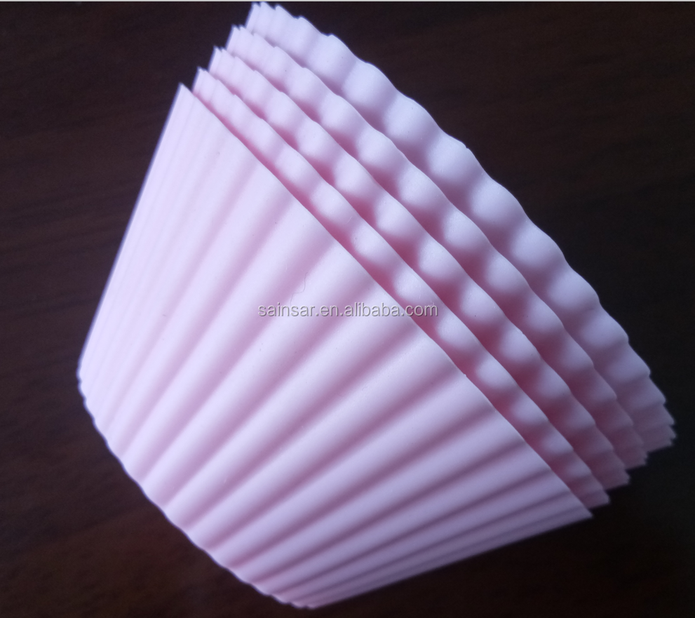 Silicone microwave round muffin bakery cups/mould for muffin cake baking for sale