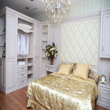 XINBIYUAN Antique Tiger Wood Imported Wood Bedroom Furniture