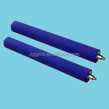 Lamination rubber coated roller
