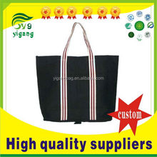 Popular stylish canvas expandable tote bag