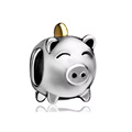 plastic pig shape money bank