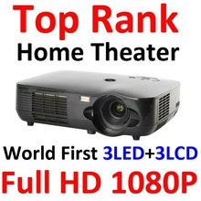 3led +3lcd full hd1080p projector