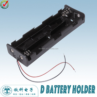 TBH-D-8A-W D Cell Battery Holder waterproof Battery Holder li-ion Battery Holder (TECO)