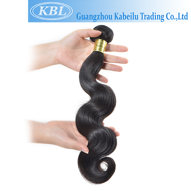 Guangzhou virgin Brazilian body wave hair bundle,sunlight human hair,wholesale russian virgin remy human hair extension/bulk