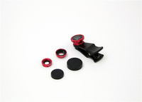 Fisheye Wide Angle Macro clip lens 3 in 1for Mobile Phone