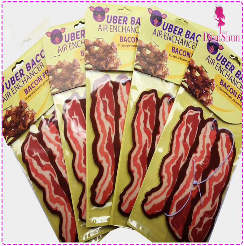 hanging custom bacon car air freshener july07302251