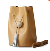 2016 hot seal genuine leather women vintage travel bucket bag,retro minimalist bucket bag