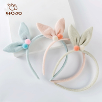 Cute Kids school students beautiful cloth flower hair bands