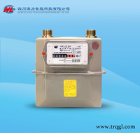 Domestic mechanical diaphragm natural gas meter