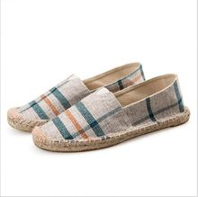 espadrille canvas unisex shoe wholesale fashion Custom casual strapless