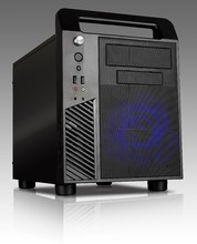 Micro ATX Cube PC gaming case with handle