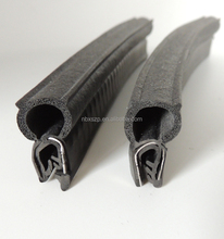 car trunk lid Co-extruded Rubber Seals for cabin rack