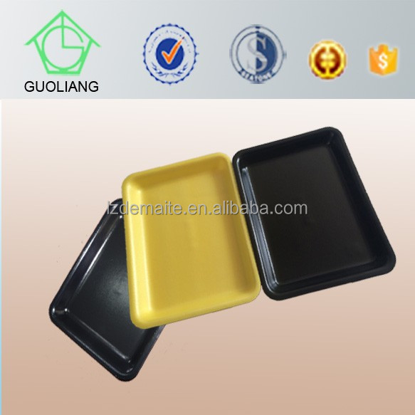Golden Supplier SGS FDA Approval Supermarket Display Food Grade Disposable Plastic Foam Meat Tray