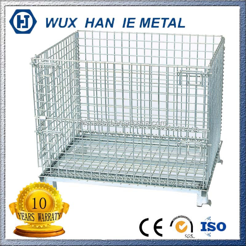 Lockable Storage Pallet Cage