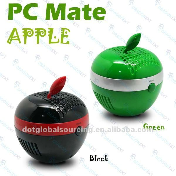 New Apple USB Computer Notebook PC Mate Fresh Air Ionizer Purifier