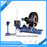 Heavy truck used tire demounting tool for garage
