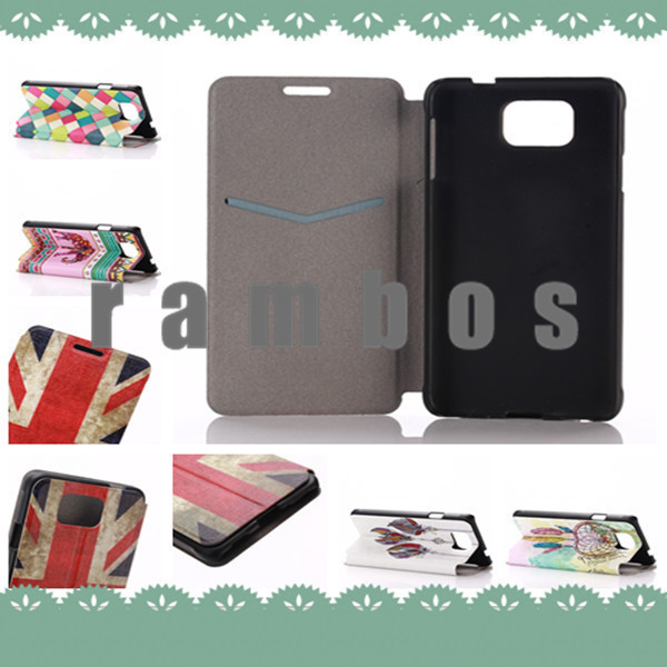 Luxury Flip Printed Cute Wallet Card Holder Leather Case Cover Cell Phone Protector for iPhone 4/4s