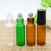 3ml Glass Perfume Bottle,Essential Oil Bottle,Empty Perfume Glass Roll On Bottle