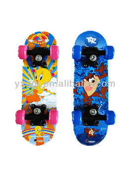 "Wholesale chinese Maple 17"" shortboard skateboards for kids"