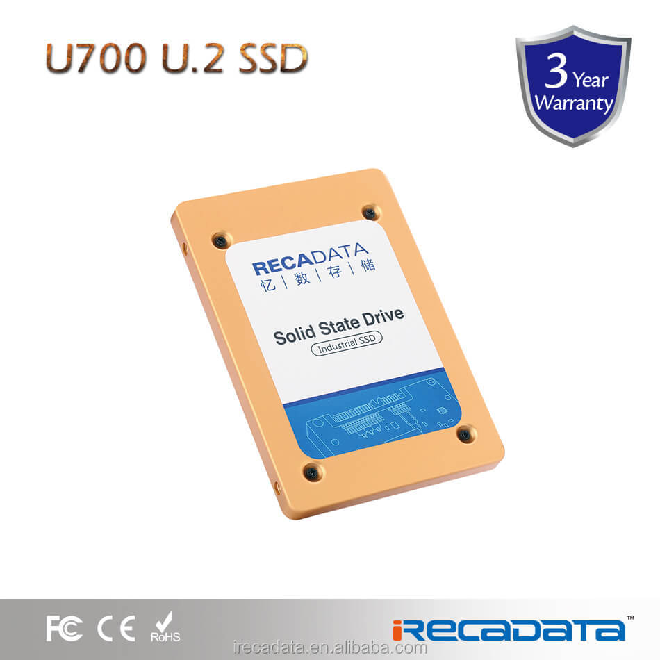 "New released iRECADATA U700 series internal ssd 2.5"" U.2 NVMe hard drive 1tb compatible with SATA connector"