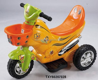 Battery/Electric Musical Ride on 6V Tricycle Car with Light/Charger Kids Toys
