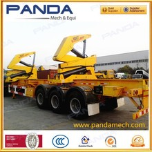 3 Axle XMCG MQH37A container side lifter trailer for 37t lifting capacity