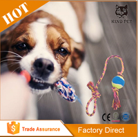 super cheap and good new design hollow ball shape dog toy
