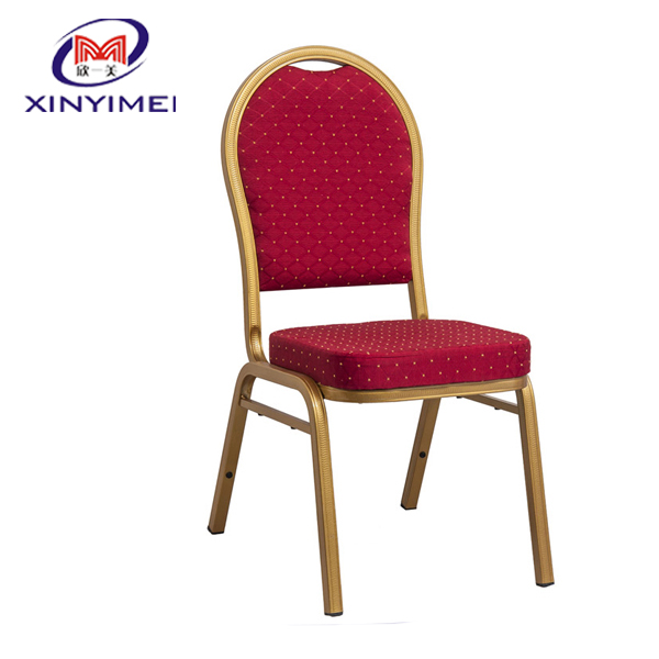 Hot sale stacking banquet used metal catering chair for sale