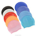 Colorful blank Silicone Swimming Caps