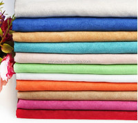 Polyester cheap Suede Fabric for garments & home textile
