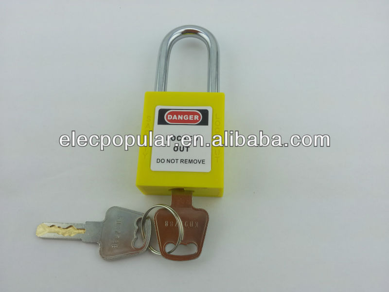 ABS Safety padlock with master key