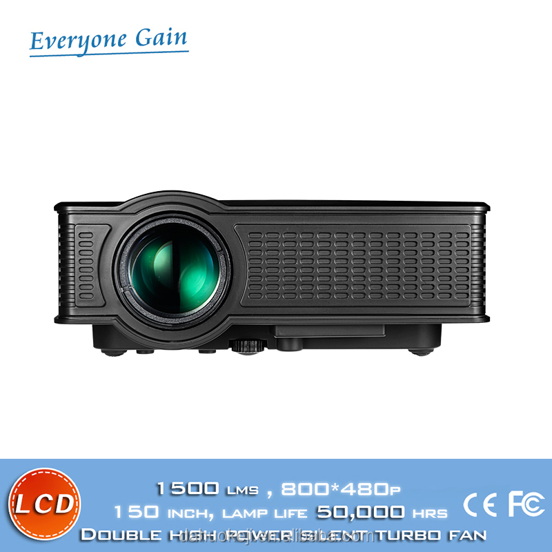DH-mini51+ unic projector 1500 lumens for Affordable mobile home theater