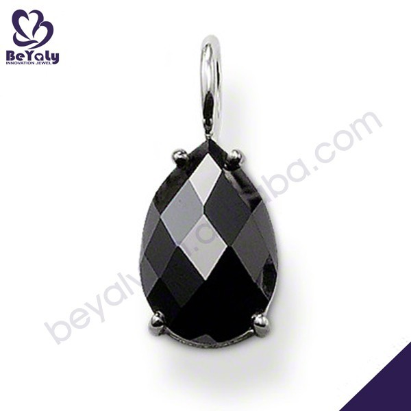 New trends black crystal wholesale pendant yin yang