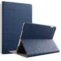 Tree texture PU Leather Cover Durable Shockproof Kids Friendly case for Apple Ipad mini 4