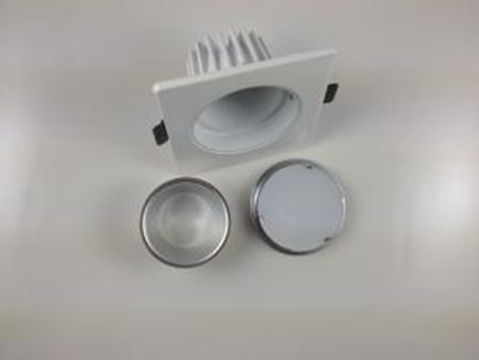 Aluminum die-cast 3 inch LED lamp housing by Factory custom