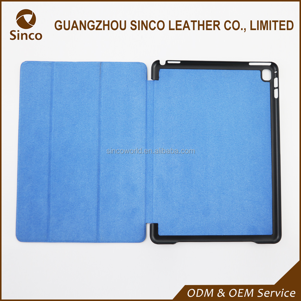 China factory online ultra thin shockproof flip leather case for iPad mini Retina